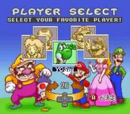 Excitebike Mario 4 chars