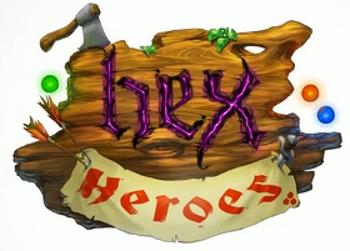 Hex heroes logo