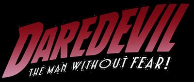 A daredevil logo
