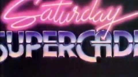 1984 CBS Saturday Supercade Cartoon Intro