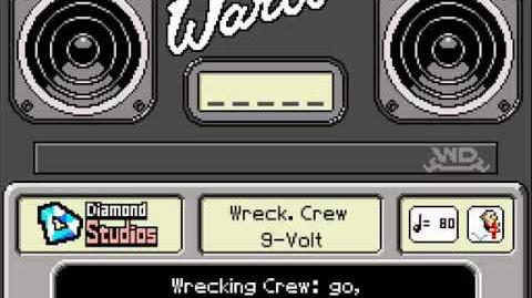 WarioWare DIY 9-Volt's Records - Wrecking Crew