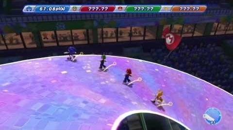 Mario & Sonic Sochi 2014 Sonic's Figure Skating Spectacular