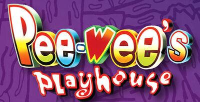 A pee-wee's playhouse logo