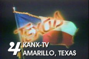 KANX-TV's ID bumper from 1980 taken from the soap opera Texas that aired on NBC from 1980-1982