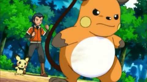 Ash vs. Sho (Pikachu vs. Raichu) AMV-0
