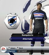 Sampdoria alternate