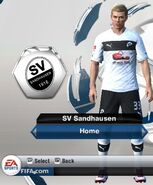 Sandhausen home