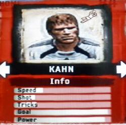 FIFA Street 2 Kahn