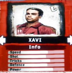 FIFA Street 2 Xavi