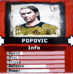 FIFA Street 2 Popovic