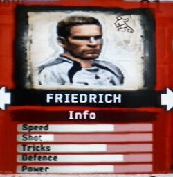FIFA Street 2 Friedrich