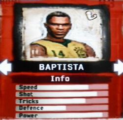 FIFA Street 2 Baptista