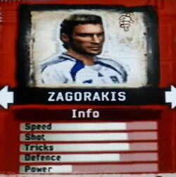 FIFA Street 2 Zagorakis