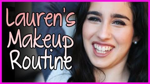 Lauren's MakeUp Routine - Fifth Harmony Takeover Ep