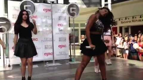 Fifth Harmony Atlanta- North Point Mall Part 2