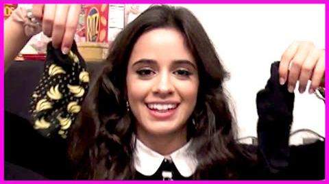 Camila's Lucky Banana Socks & Tristan from The Vamps - Fifth Harmony Takeover Ep 29