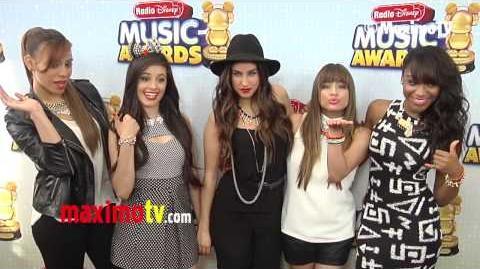 """Fifth Harmony 2013 """"Radio Disney Music Awards"""" Red Carpet Arrivals RDMA @FifthHarmony"""