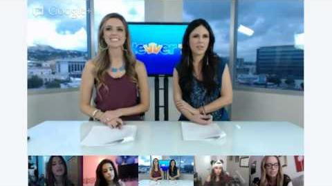 Fifth Harmony Official Google Hangout on ClevverTV