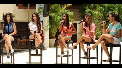 "Fifth Harmony ""Impossible"" - Judges' Houses - The X Factor USA 2012"