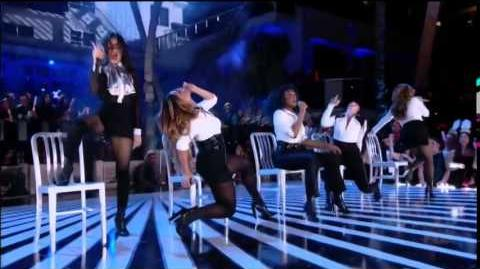 Fifth Harmony - BO$$ (BOSS) (LIVE on Pitbull´s New Years Revolution 2015)