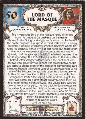 50 Lord of the Masque US back