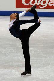 Jamal Othman Spin - 2006 Skate Canada