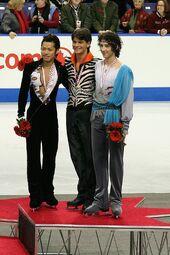 2006 Skate Canada Men's Podium