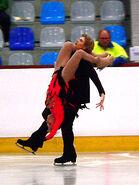 Ksenia Antonova & Roman Mylnikov 2006 JGP The Hague