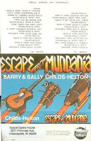 Escape Mundania Cover