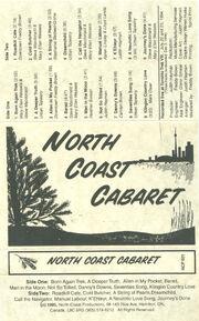 North Coast Cabaret Front Cover