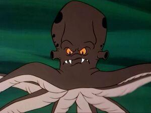 Underwater Octopus Apparition