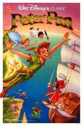 1989 peterpan re-release poster