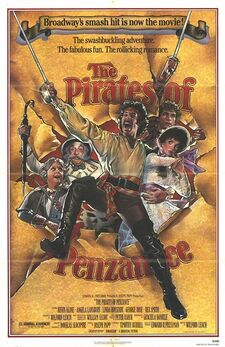 The Pirates of Penzance poster 1983