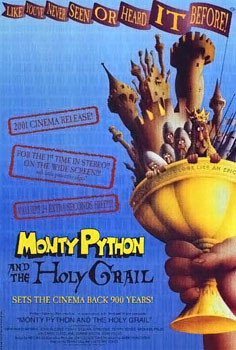 Holy grail 2001 poster