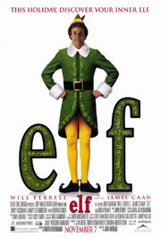 Elf theatrical release poster