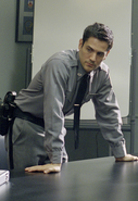 Thomas Burke at the interrogation room