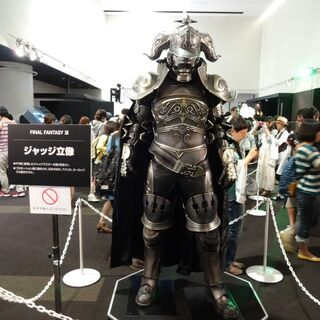 Fully to scale replica of Gabranth's armor.