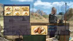 Food Menu XV