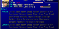 List of Final Fantasy VII statuses