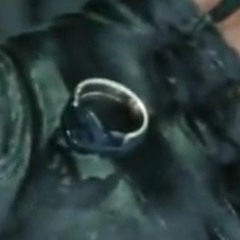The Ring of the Lucii in Luche Lazarus's hand in <i><a href=