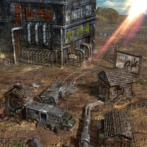 Corel Prison in the final game.