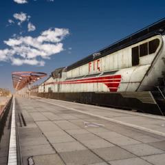 Train in Cartanica.