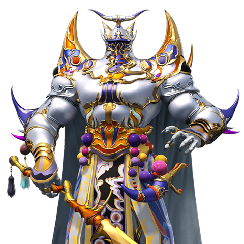 Exdeath's Dark Mage C outfit in <i>Dissidia Final Fantasy (2015)</i>, based on Exdeath's Soul's sprite.