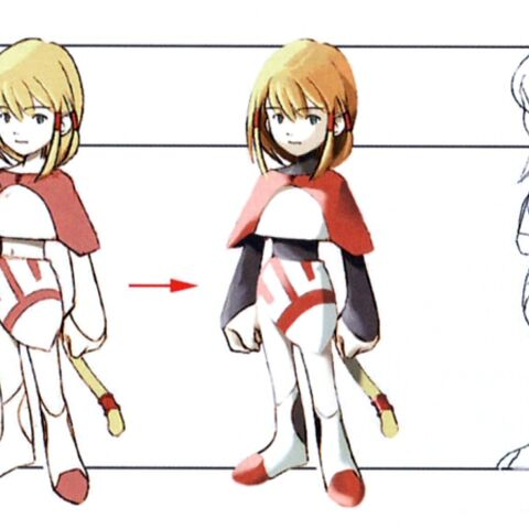 Concept artwork of Mikoto.