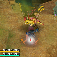 Attack used when picked up by the player.