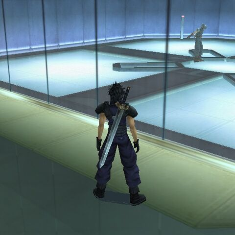 The virtual reality room in Shinra Headquarters.