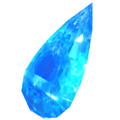 Serah's crystal tear.