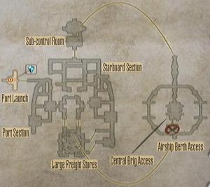 FF12 Map - Dreadnought Leviathan