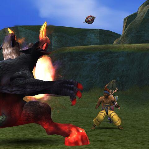 Chimera Brain in battle.