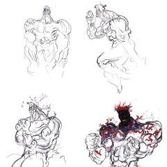 Amano sketches.